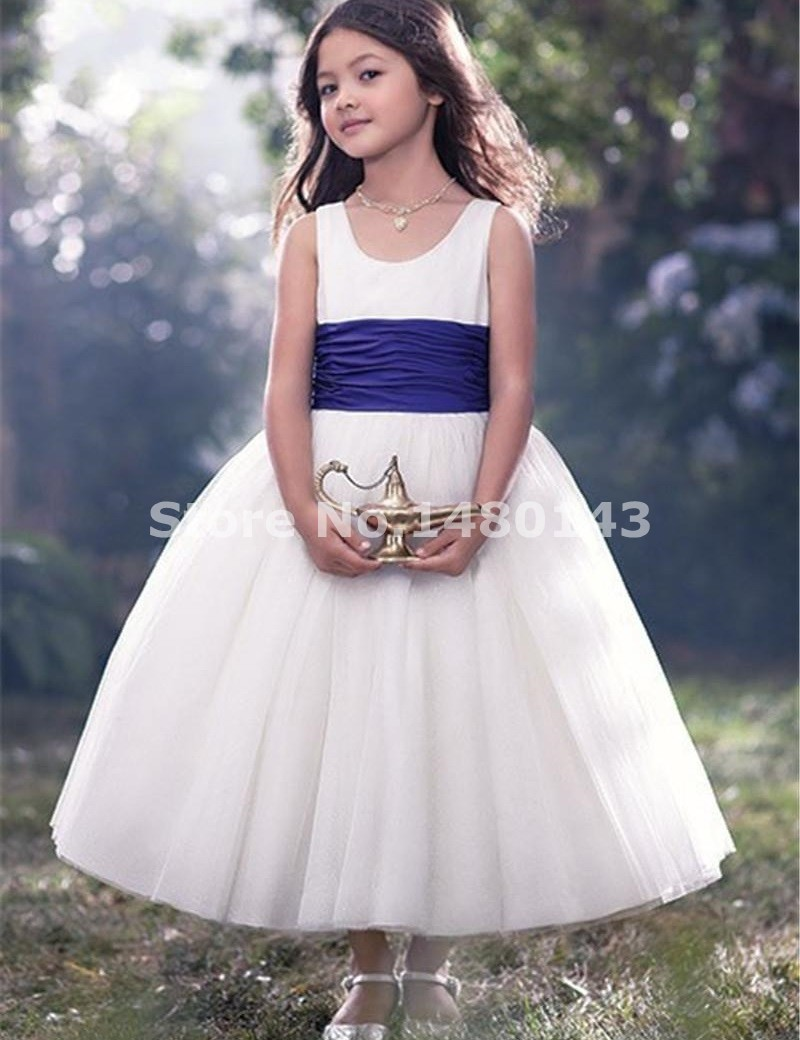 Cute white flower girl dress with purple sash ideas wedding and flower girl dresses low prices wedding dresses in jax mightylinksfo Choice Image