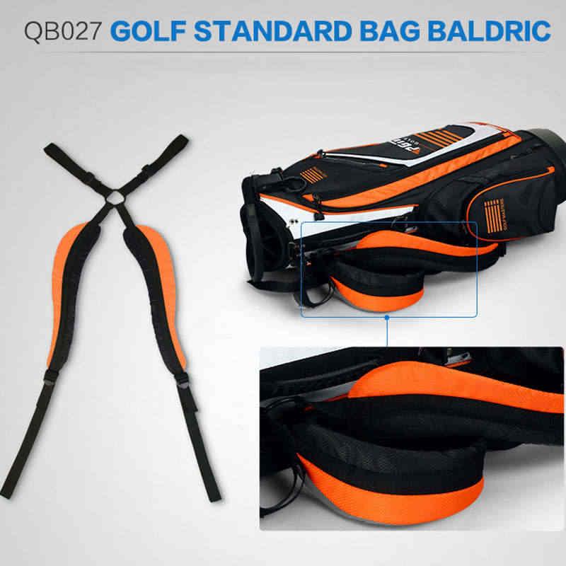 جولف ستاندرد الكرة حزمة المحمولة الغولف رف حقيبة الفاخرة النايلون متعددة الأغراض جولف ستاندرد دائم في الهواء الطلق تحمل حقيبة غولف