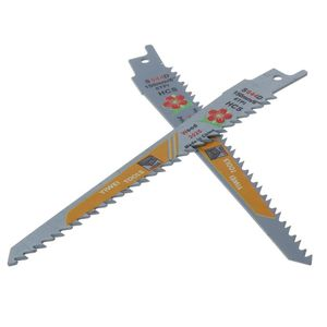 Image 4 - 2PCS Durable HCS Kolben Sabre Sägeblätter Set für Schneiden Metall Professionelle S644D Klinge Kit Werkzeuge