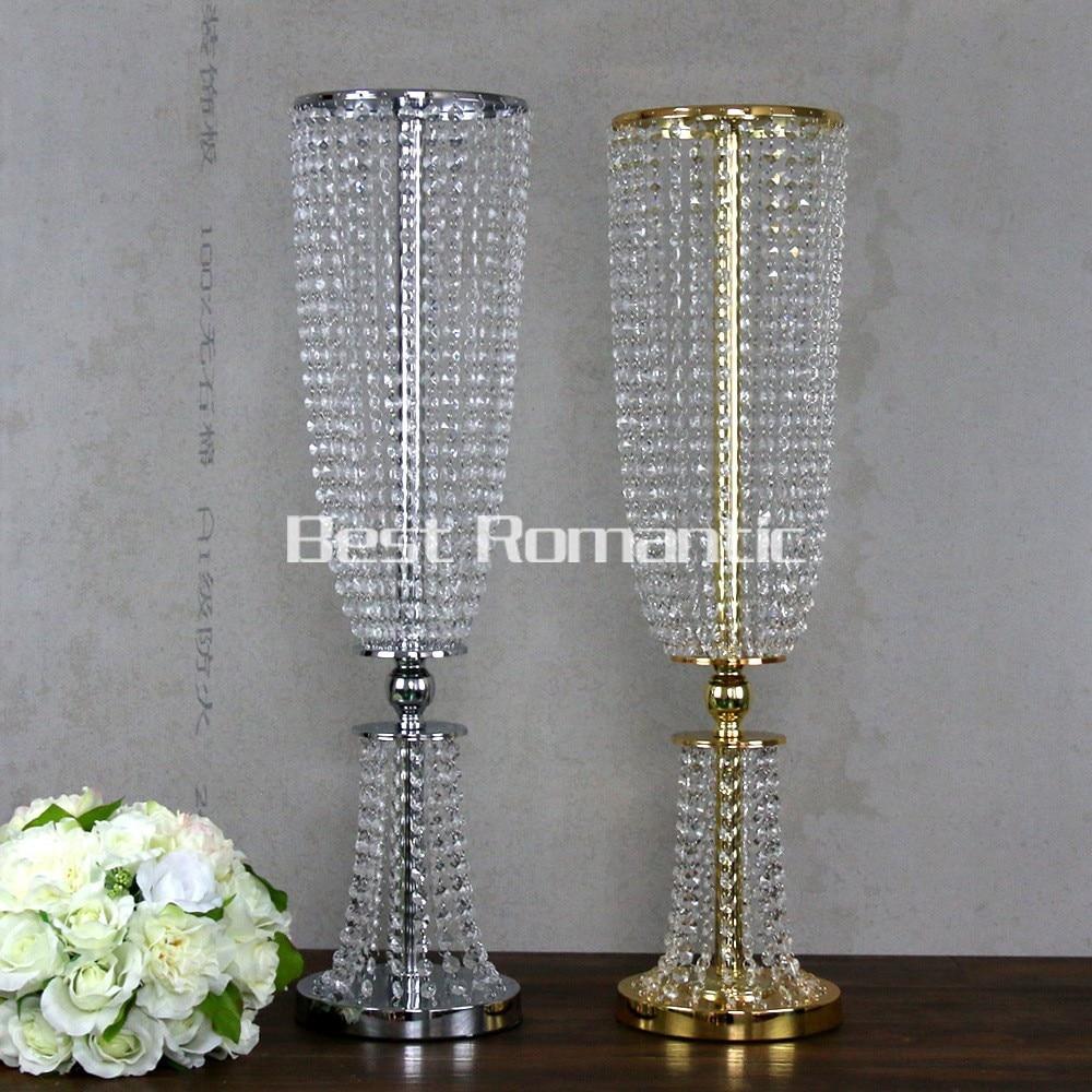 Aliexpress Com Buy 80cm Tall 10pcs Flower Design Metal