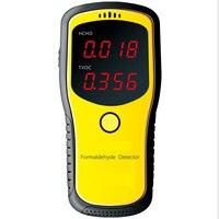 Digital Formaldehyde Detector Meter HCHO TVOC Meter Air Analyzers Unit Mg M3