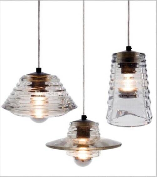 E27 современный стеклянный абажур подвесные светильники столовая подвесной светильник для внутреннего Современная светящаяся Подвеска све