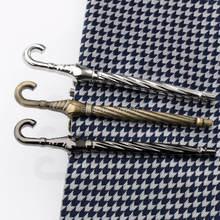 2016 бронзовая черная пушка Серебряная панель для галстука зонтика