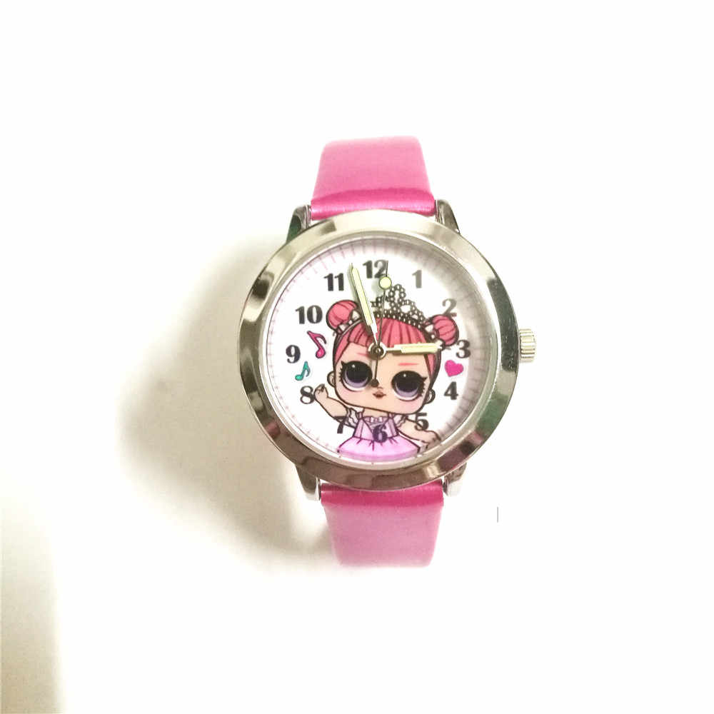 New brand Quartz Cartoon children Wrist Watch lovely mini Kids watches girls Xmas gift clock relogio infantil montre enfant