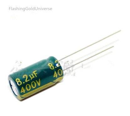 400 V 8.2 UF 8.2 UF 400 V Tụ Điện khối lượng 8X14 chất lượng tốt nhất New  origina trong 400 V 8.2 UF 8.2 UF 400 V Tụ Điện khối lượng ...