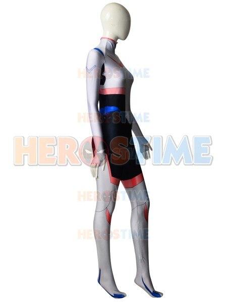 Princess Allura Costume Voltron: Legendary Defender Allura Costume 3d print Lycra Spandex Suit Halloween jumpsuit