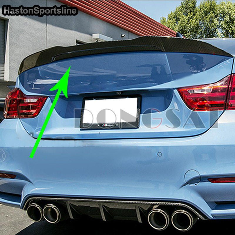 Carbon Fiber 418d 420d 430d 435d Rear Trunk Spoiler Wing for BMW F32 420i 428i 435i 2014-2017 for bmw 4 series f32 coupe 420i 428i 430i 435i carbon fiber rear spoiler performance style 2014 2015 2016 2017