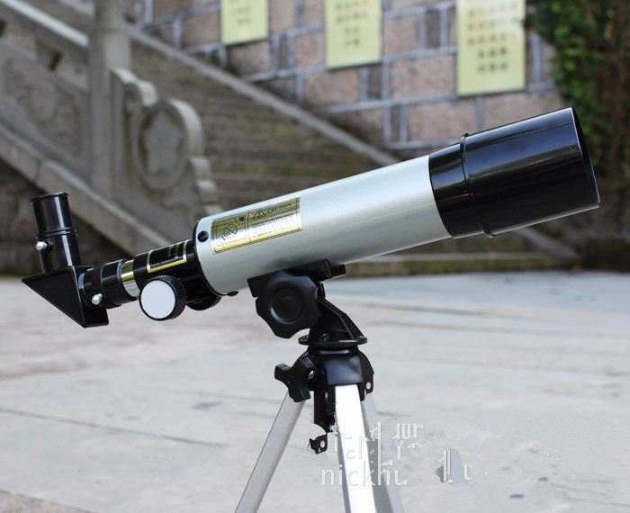 Refractive astronomical telescope mm f monocular