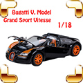 New Arrival Bugatti Veyron 1/18 Big Metal Model Collection Car Alloy Race Car Iron Gift Huge Fans Decoration Vehicle Toy Present