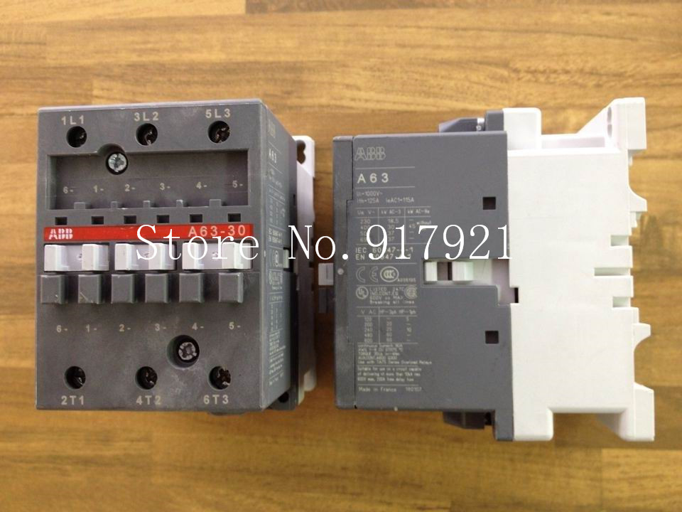 [ZOB] The original original A63-30 AC24V AC contactor 125A to ensure genuine цена