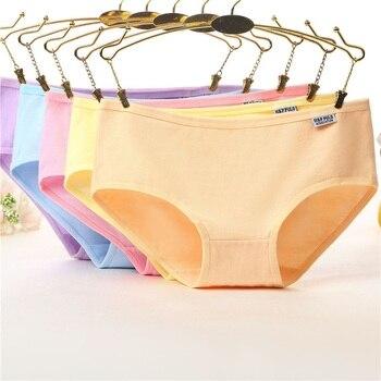 Трусики через женские брюки