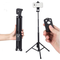 Handheld Mini Tripod Self Portrait Monopod Selfie Stick For IPhone Sumsang Phone Gopro Camera Bluetooth Self