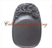 10 дюйм(ов) ов) китайский Zhaoqing Duan Yan чернильный камень резной дракон чернильный камень Каллиграфия Живопись Инструмент 12635
