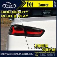 AKD Car Styling Tail Lamp For Mitsubishi Lancer Tail Lights 2008 2016 LED Tail Light Signal