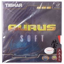 Original Tibhar Aurus Soft pimples in table tennis rubber fast attack with loop table tennis rackets racquet sports(China)