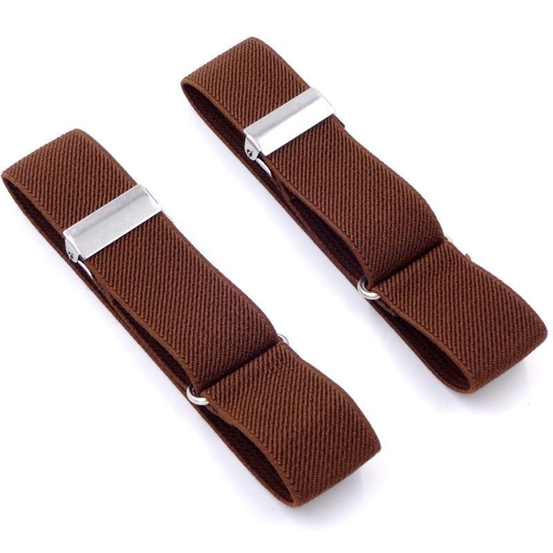 100% Quality Polyester Elastic Unisex Armbands Sleeve Garter Adjustable Gift Shirt Sleeve Holders Elastic Sports Fashion Business Accessories Men's Accessories Men's Arm Warmers