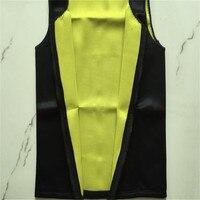 Men Slimming Vest Neoprene Shaper Sweat Thermal Belt Body Shaper Posture Trimmer Waist Abdomen Trainer Corsets