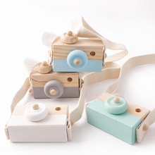Let's make 1 шт. детская деревянная игрушка камера модная подвеска для маленьких детей подвесная камера реквизит украшение Скандинавская подвесная деревянная камера игрушка