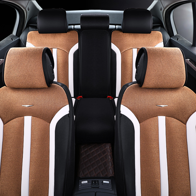 FRONT PAIR of Luxury QUILTED Protectors Car Seat Covers PEUGEOT 306
