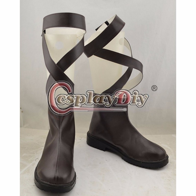 Saint Seiya Cosplay Shoes Boots Anime Shoes For Adult Men's Halloween Cosplay Accessories Custom Made