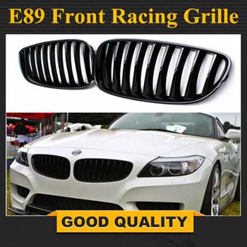 2009-2016 Kidney e Gloss Black ABS Plastic E89 Auto Car Front Racing Grill Grille for BMW E89 Z4 20i 23i 28i 30i 35i