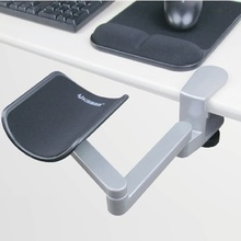 Купить с кэшбэком High quality Tables dedicated Ergonomic Aluminum Alloy Mouse Pads Computer and Mouse Hand Bracket Hand Drag Wrist support,01BCD