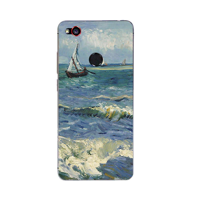 Étui pour ZTE Nubia Z9 MAX pour Nubia Z11 / Z11 Mini MAX couverture ForNubia Z11 MiniS coque souple peinture à l'huile conception peinte
