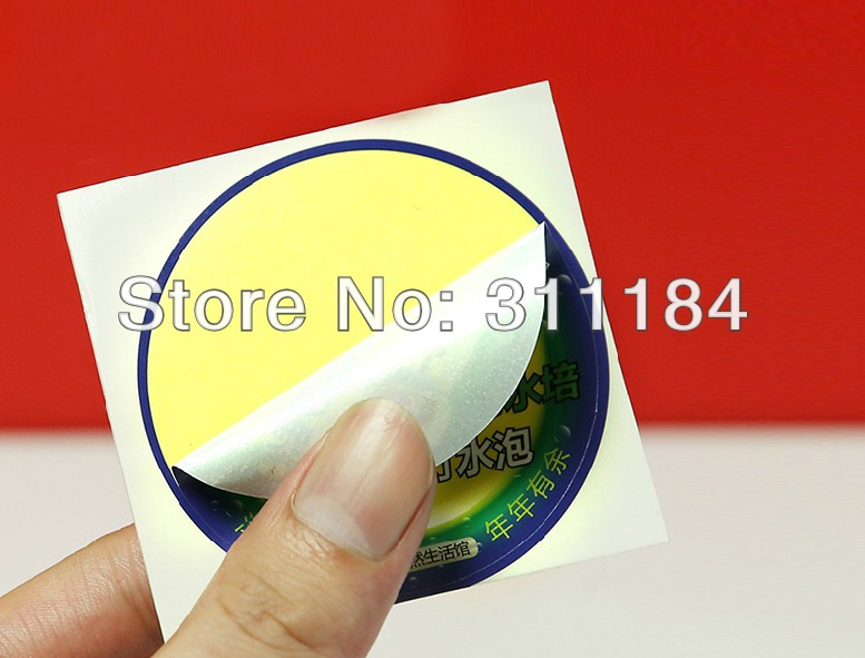 US $145 0 |custom glossy sticker paper adhesive sticker printing colour  waterproof packaging laminated label sticker-in Office Adhesive Tape from