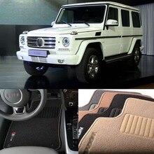 Savanini 5pcs Premium Auto Fabric Nylon Anti-slip Floor Mats Carpet For BENZ G Class
