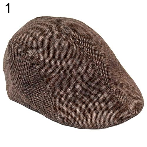 Men Women Fashion Peaked Cap Flat Hat Beret Hats Cabbie Newsboy Country  Style BEDB 1ae7cf95401