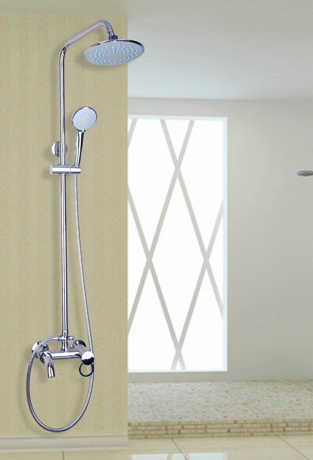 Shower 8round Stainless Steel Bath Rainfall Shower Head