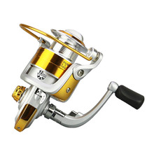 Fishing Reel 12BB 5.5:1 Metal Spool Carp Bass Fishing Tackle Spinning Reel Fish Wheel Accessories ALS88