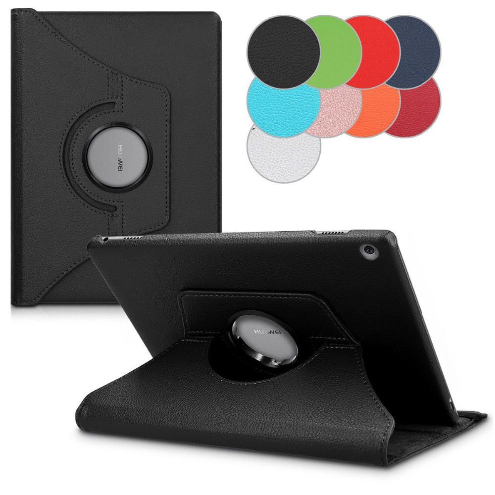 Ultra Slim PU Leather Case For Huawei Mediapad T5 10.5 Inch AGS2-W09/L09/L03/W19 Tablet Case 360 Rotating Bracket Leather Cover