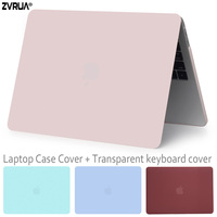 ZVRUA, New style laptop Case for Macbook 13 inch Air / Pro Retina / with Touch Bar / CD ROM + Keyboard Cover