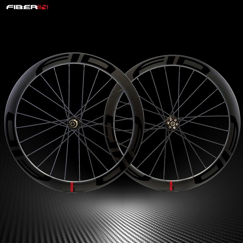Sales full toray T700 fiber 700C 38 50 60mm clincher matte black finish wheelset carbon