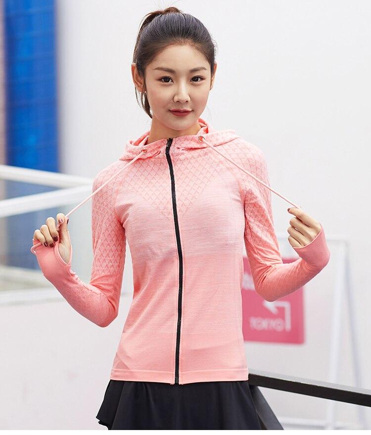 long sleeve running jacket