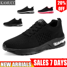 2019 New Arrival Brand Designer Casual Shoes Air Cushion Lightweight Breathable Sneakers Four Seasons Fashion Men Running Shoes