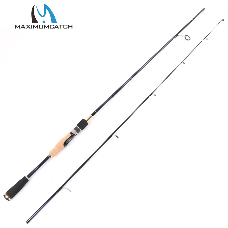 Maximumcatch 6'6'' 24T/IM 6 Carbon Fiber Megapower Spinning Rod 662 ML 5-10LB Line Weight 2pcs Spinning Fishing Rod [sa]takenaka frs2053 fiber line genuine 2pcs lot