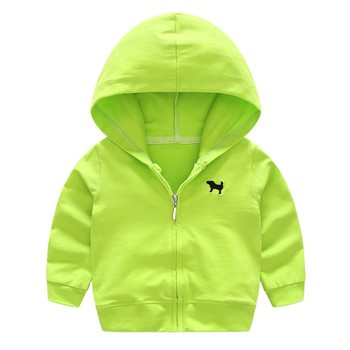 0-4Y Autumn Baby Boys Hoodies Outwear Long Sleeve Children's Sweatshirts Cardigan Jackets Hooded Coat