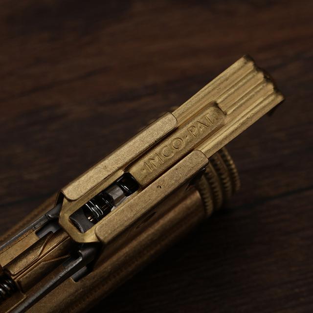 Brass Outdoor Windproof Lighter: Must-Have Survival Gear