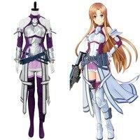 Sword Art Online Fatal Bullet Asuna Cosplay Costume Dress Suit Uniform