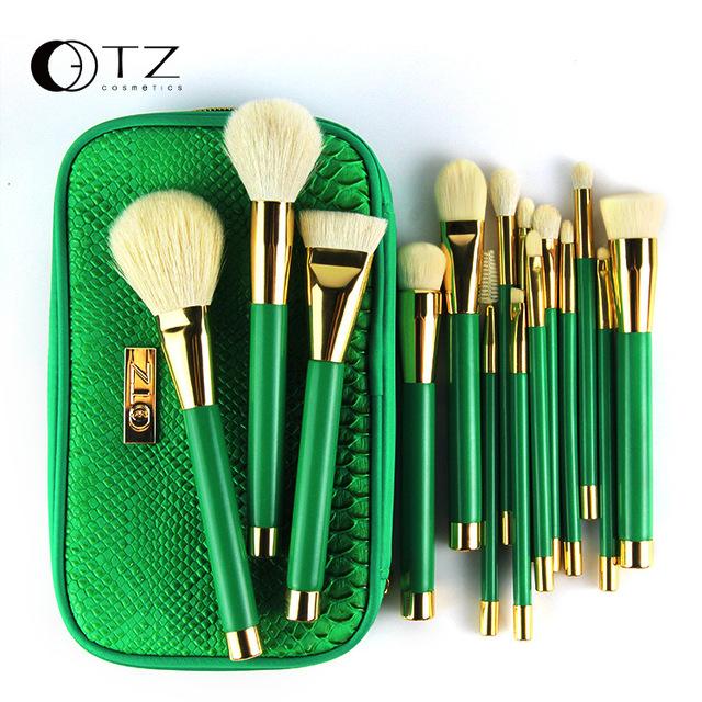 Profesional 15 Unids de cepillo Cosmético Pinceles de Maquillaje Set herramientas kit para Mujer Kabuki Fundación pincel de maquillaje Cepillo de maquiagem