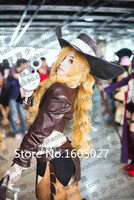 Game Clothing LOL The Bounty Hunter Cowgirl Miss Fortune Action Figure Uniform Suit Cosplay Costume Anime Custom Made Any Size
