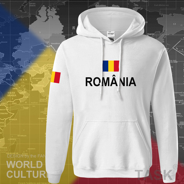 Romania Romanian ROU hoodies men sweatshirt sweat new hip hop streetwear tracksuit nation footballer sporting 2017 country 4