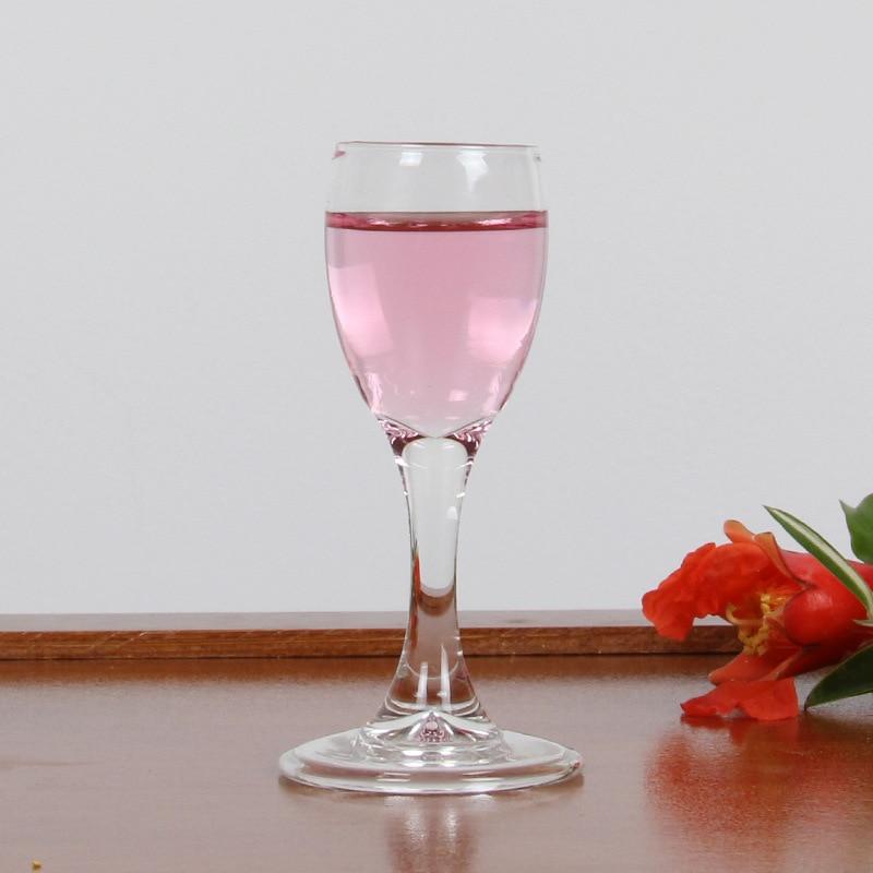 6 parça atış cam kristal cam şeffaf yüksek konsantrasyon mermi - Mutfak, Yemek ve Bar - Fotoğraf 1