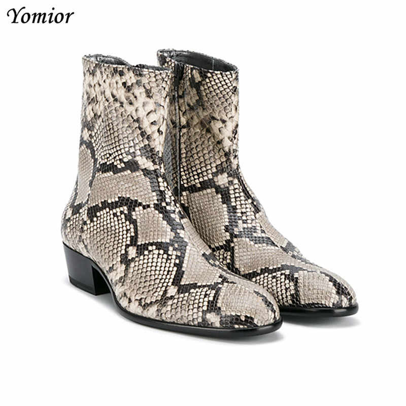2019 Genuine Leather Pointed Toe Men