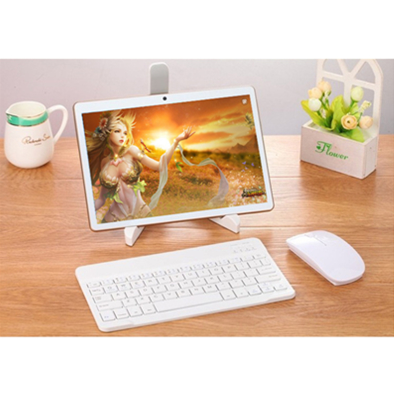 Tablet Android 6.0 With Keyboard 10 Inch Tablet PC 2.5D Screen 4G Phone Call Tablets Dual SIM Card 5G WIFI Bluetooth Usb Jack Pc