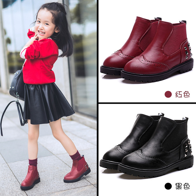 Toddler Girl Black Dress Shoes