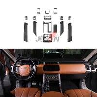 Для Land Rover LR Range Rover Sport L494 2017 2014 Автомобильный Центральный пульт переключения передач внутренняя дверная панель вентиляционная отделка 15 шт.