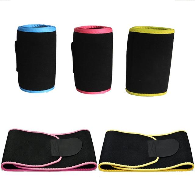 20*110cm Neoprene Sweat Belt Waist Trimmer Belt Weight Loss Sweat Band Wrap Fat Tummy Stomach Sauna Sweat Belt For Walking 1